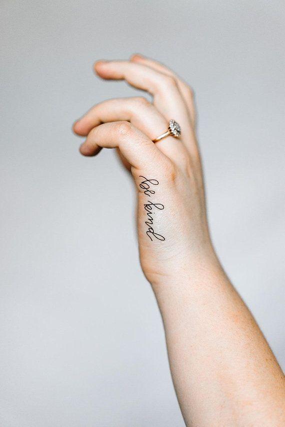 Kind Tattoo