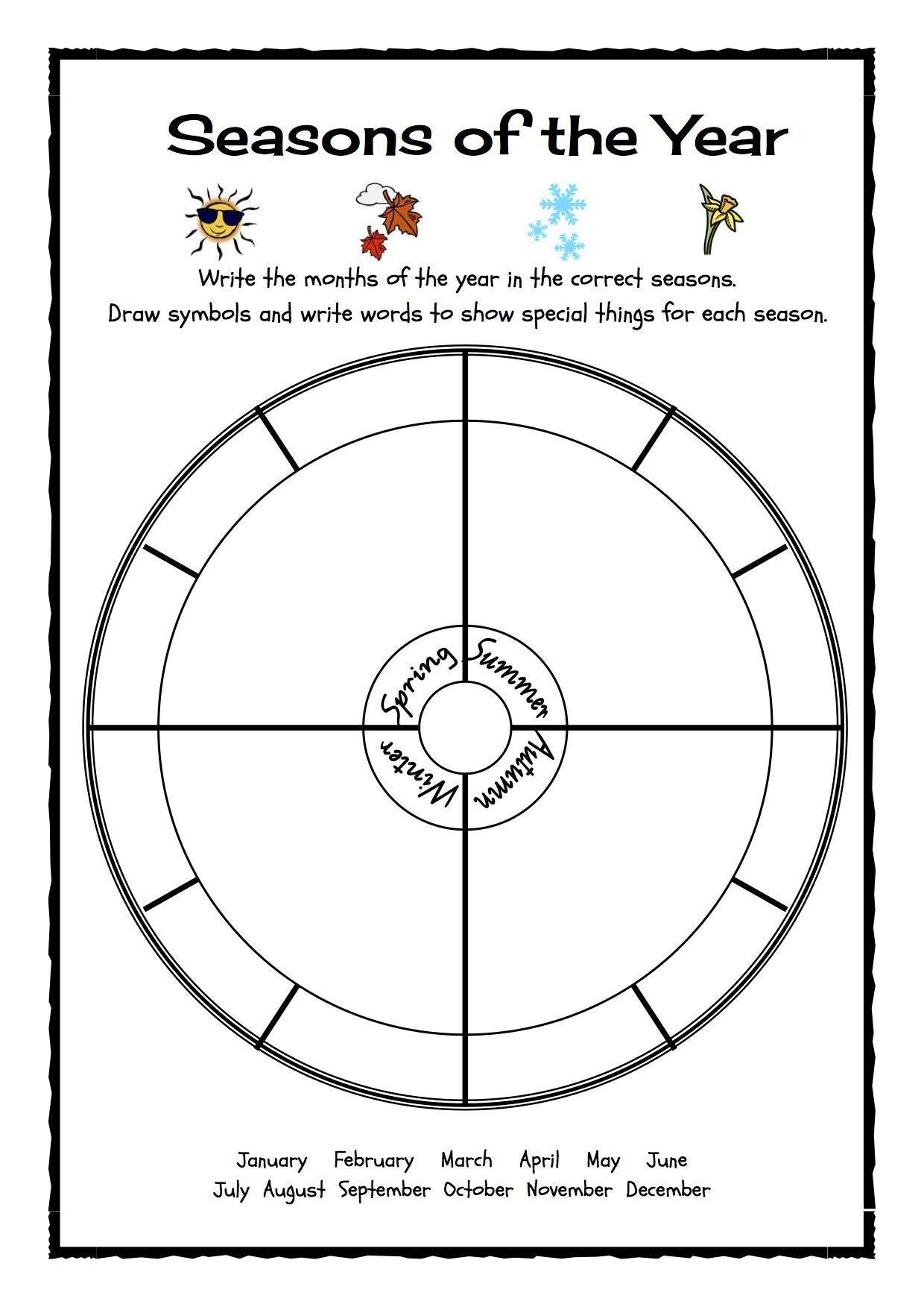 Seasons of the year | Homeschooling: Home Ec | Pinterest | Language ...