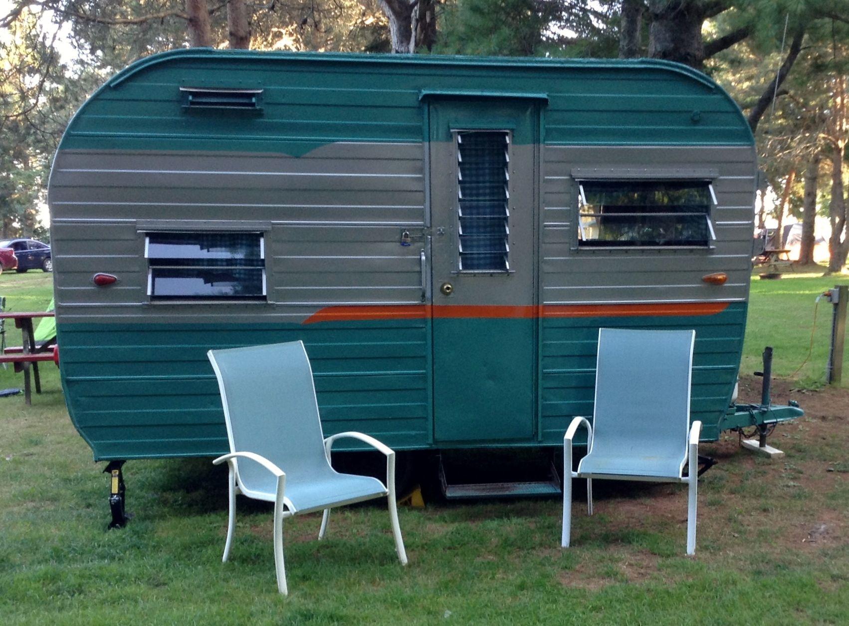 1966 Glendale Glendette | Vintage trailers, Vintage camper ...