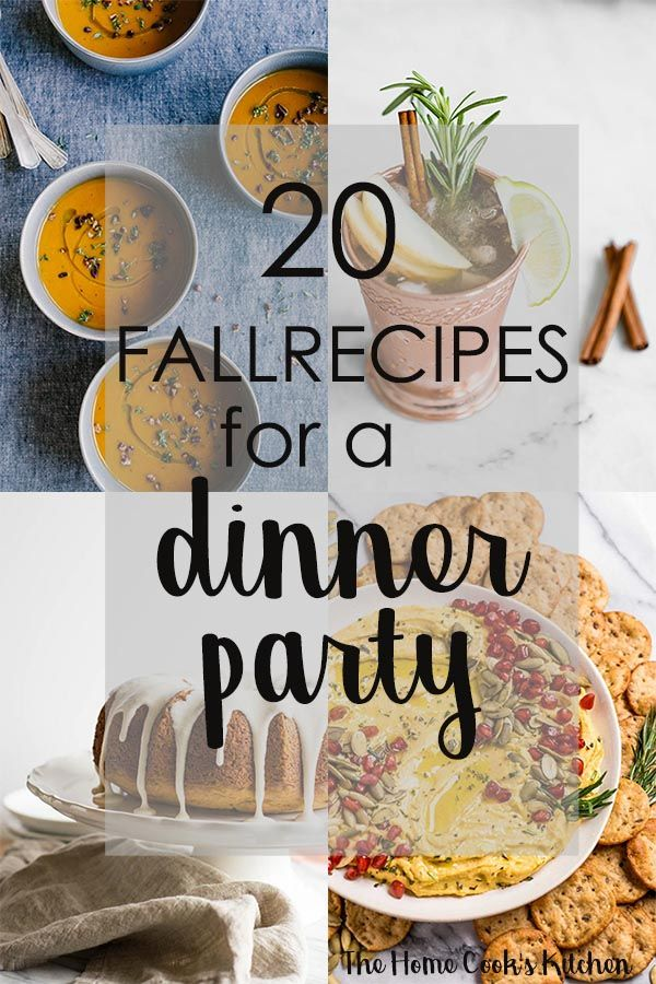 20 Fall Recipes Ideas for a Crowd