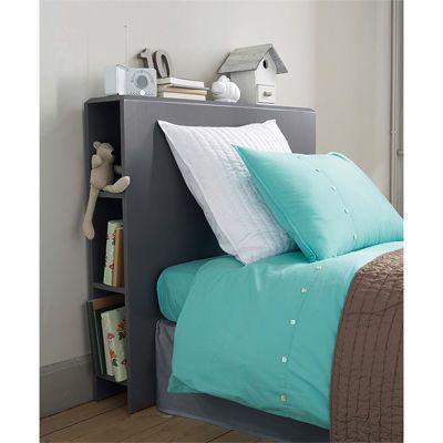 Testiera letto bambino salvaspazio detto in quattro parole descrive questa soluzione con la - Testiera letto libreria ...