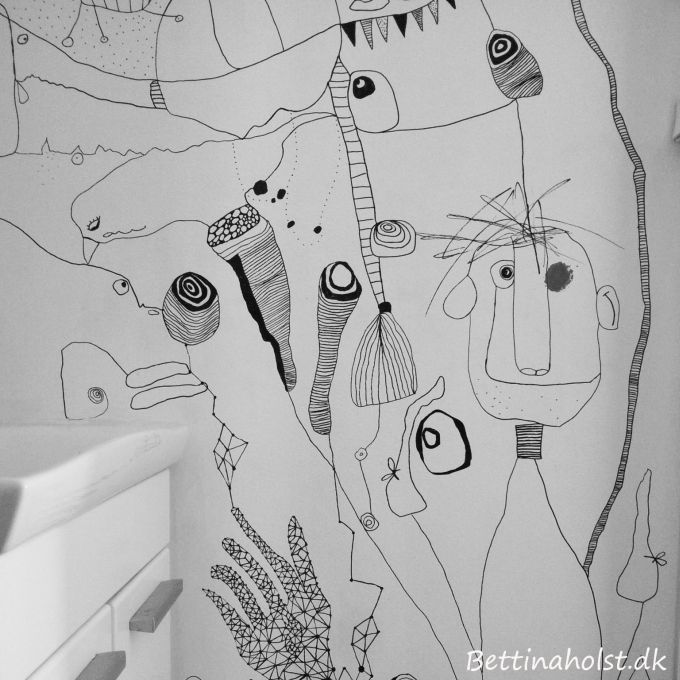 Sharpie Drawings Kitchen Walls Dining Room Ideas
