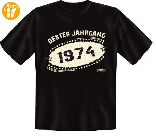 T Shirt Funshirt Geschenk Zum 43 Geburtstag 1974 Bester Jahrgang