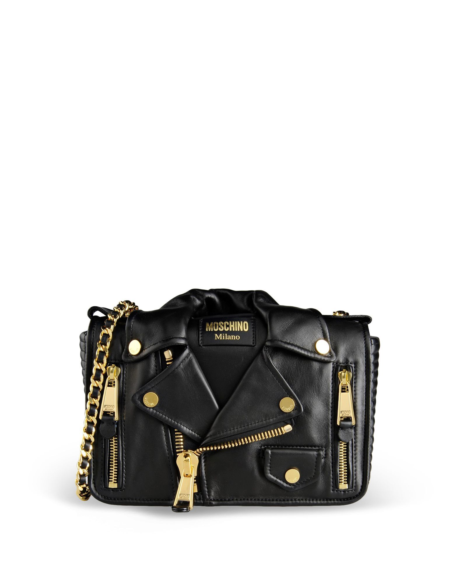 Small Leather Bag Women - Moschino Online Store  11e94102bf0