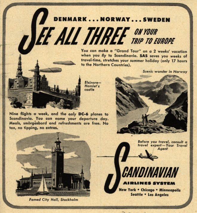 Vintage Airlines and Aircraft Ads of the 1940s (Page 19