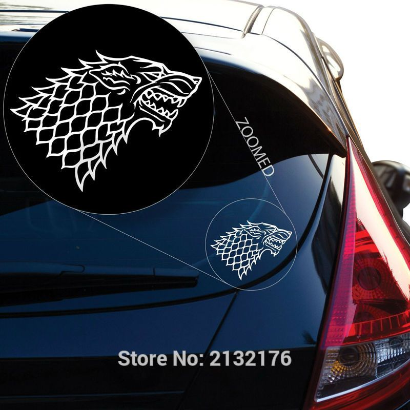 House stark decal sticker for car window price 9 99 free shipping