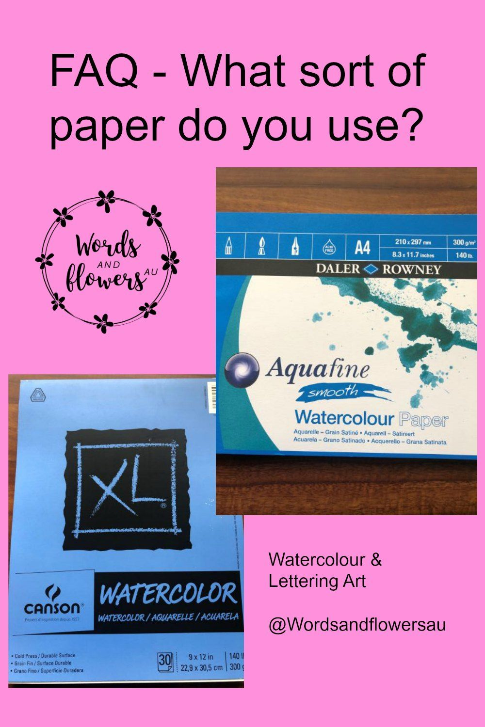 What S The Best Paper To Use For Watercolour And Lettering Art