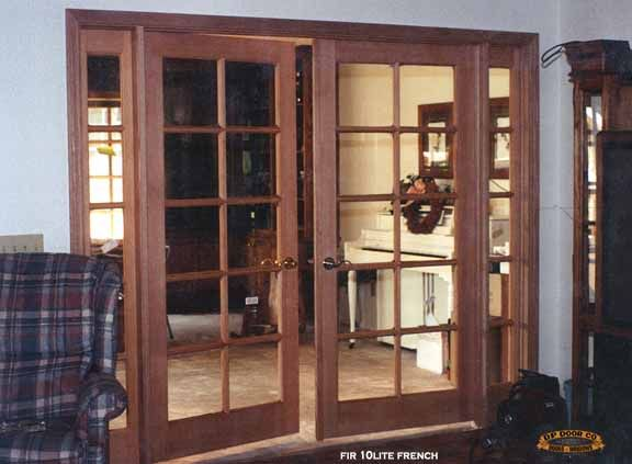French doors interior front entry doors french doors - Interior french doors with sidelights ...