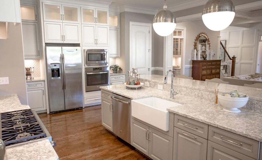 Best Berwyn™ Cambria Quartz Countertops With White Cabinets On 400 x 300