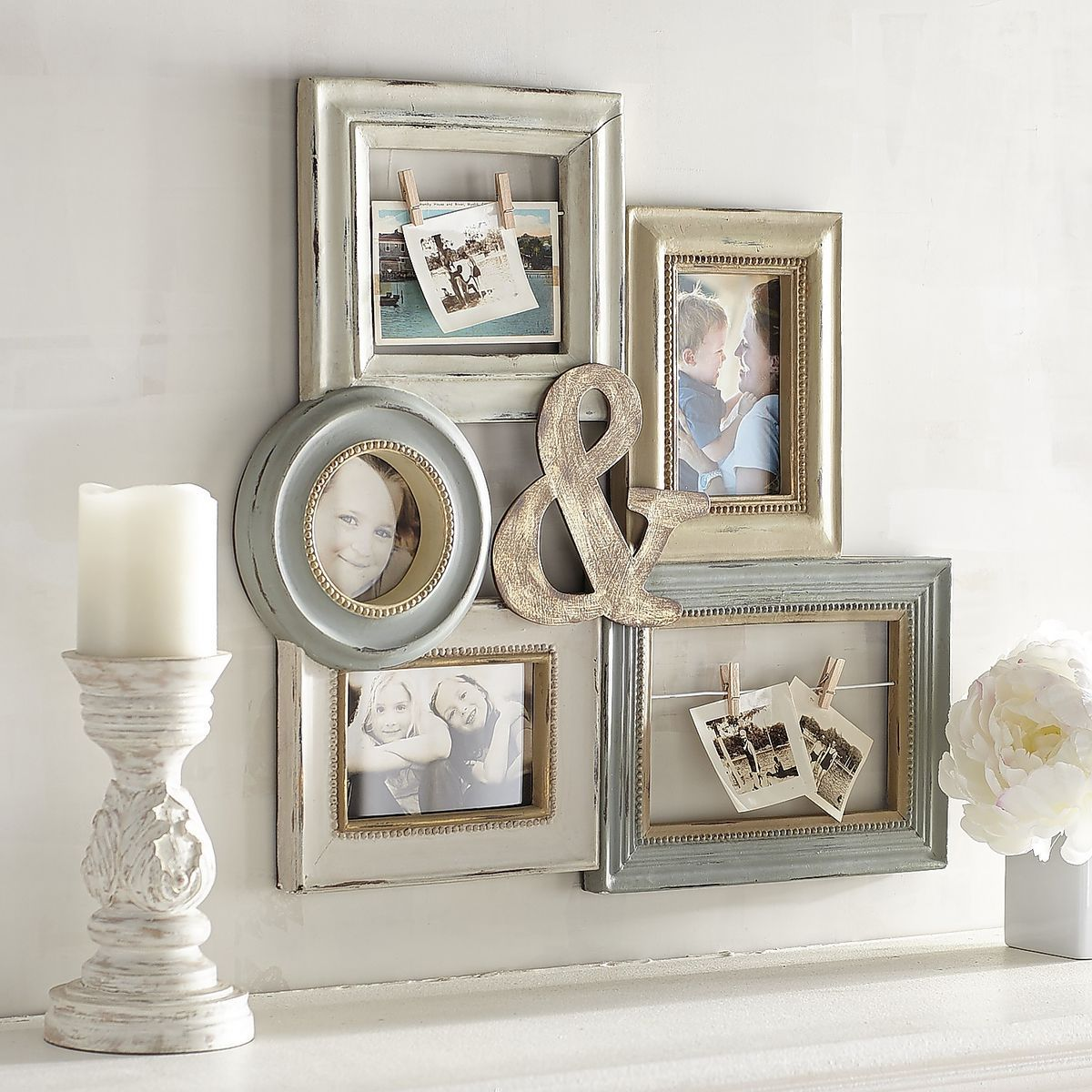 Ampersand Collage Wall Photo Frame   Pier 1 Imports   NEXT CHAPTER ...