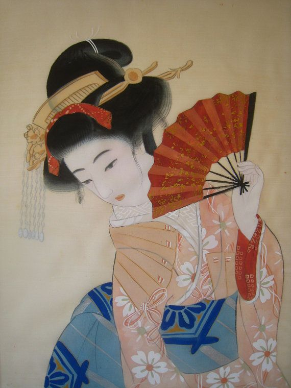 Geisha painting products for sale