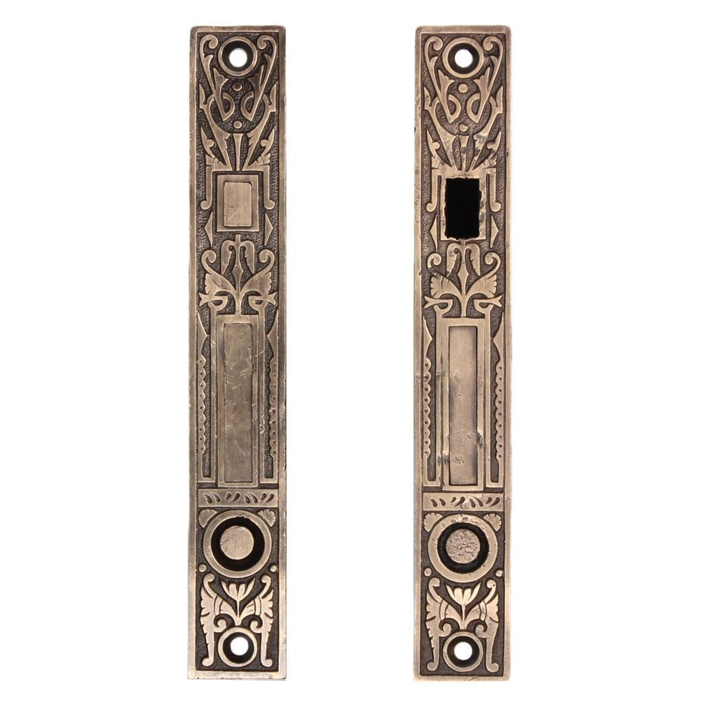Stunning Pair Of Antique Eastlake Pocket Door Locks For Double Doors From  Preservationstation On Ruby Lane