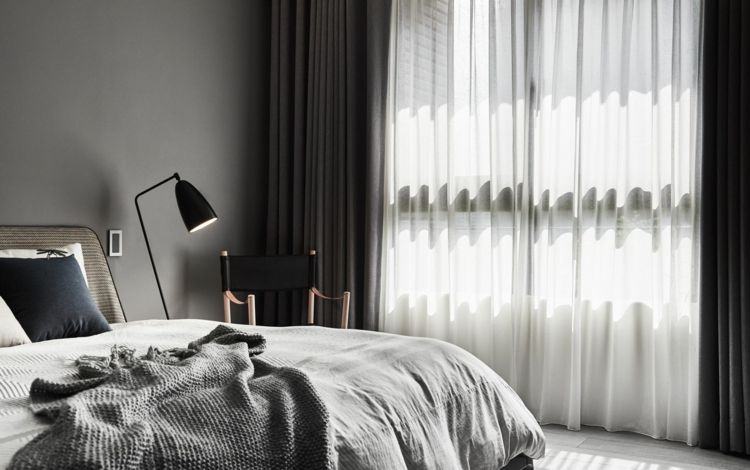 schlafzimmer bett vorhänge decke #wandverkleidung #wall - vorhänge für schlafzimmer