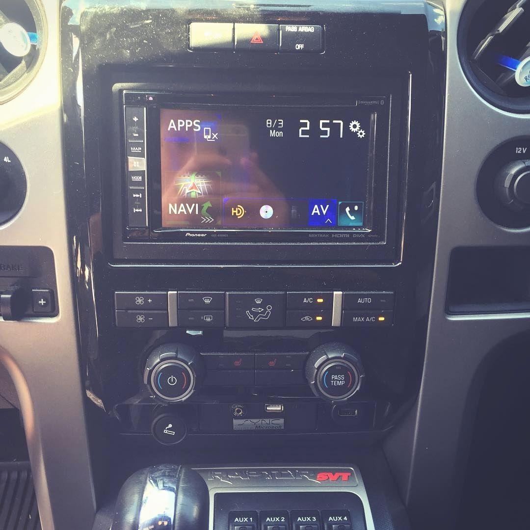 soundwavecustoms #ford #raptor #f150 #caraudio #pioneer #NEX