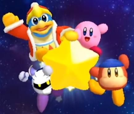 Kirby King Dedede Meta Knight Bandana Waddle Dee On The Wrap