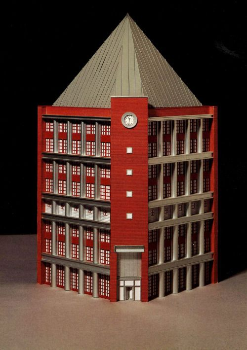 Aldo rossi restaurant and beer hall sapporo japan 1989 for Sharon goldreich