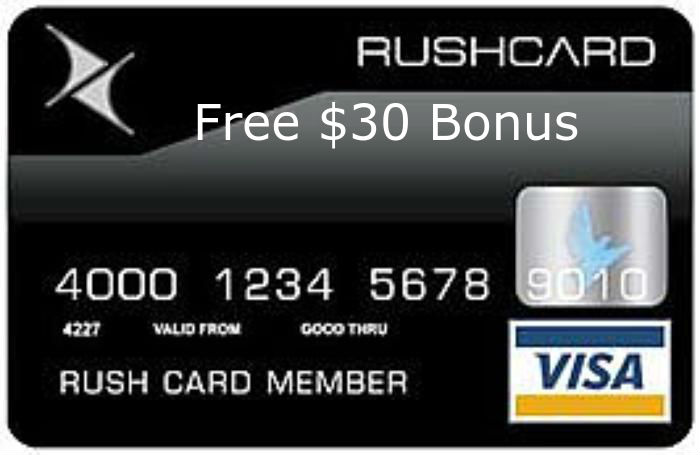 Activate Rush Card Visa Gift Card Cards Activated