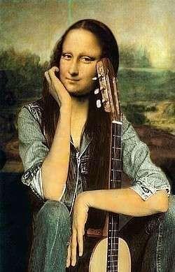 Картинки по запросу Мона Лиза видео приколы