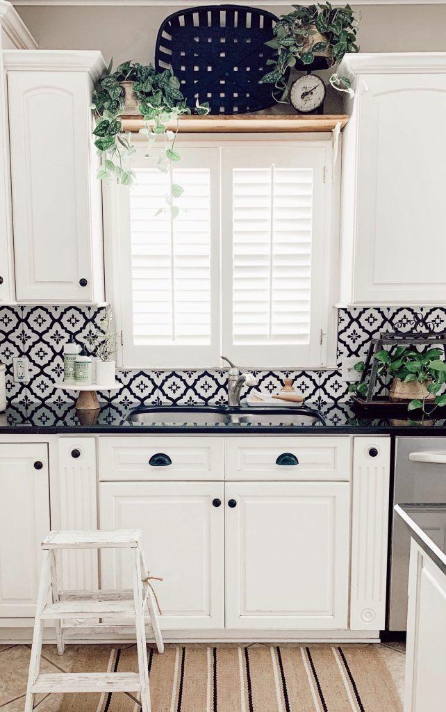 how to make a kitchen window shelf farmhouse kitchen decor farmhouse style kitchen kitchen on farmhouse kitchen window id=63915