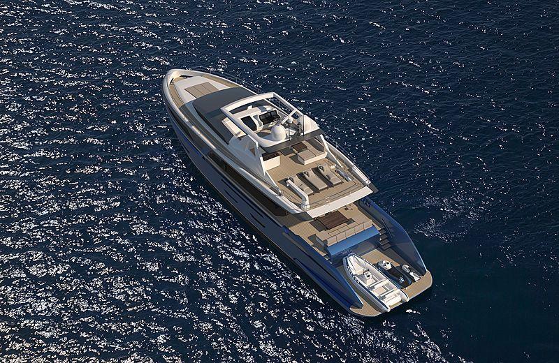 Van Der Valk 26m Pilot Yacht Rendering In 2020 Motoryacht Yachten Boote