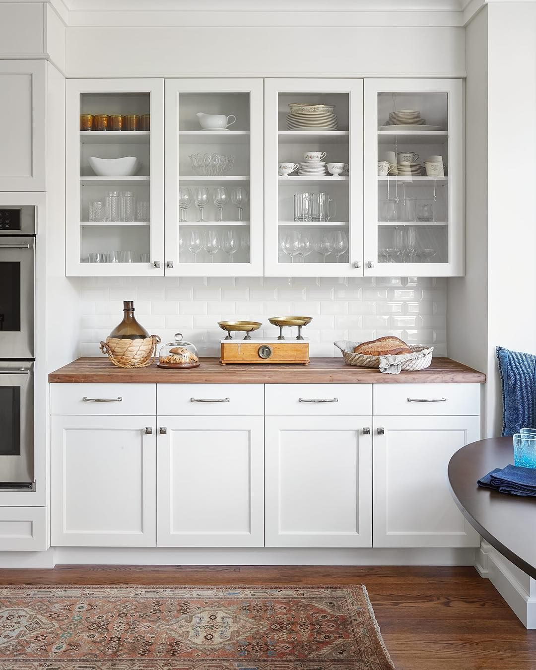 Rue On Instagram When One Client Has A Collection Of Italian Family Heirlooms And The Other Wa White Modern Kitchen White Kitchen Design White Shaker Kitchen