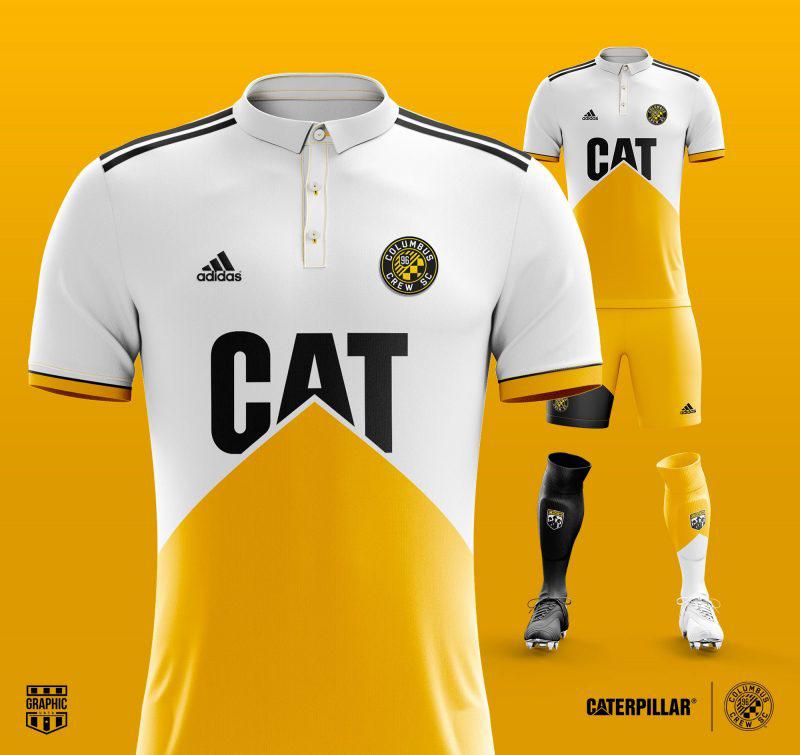 CAT y el Columbus Crew Trajes De Fútbol ab13adb506321