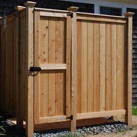 Cedar Outdoor Shower Kits Cabin Outdoor shower kits