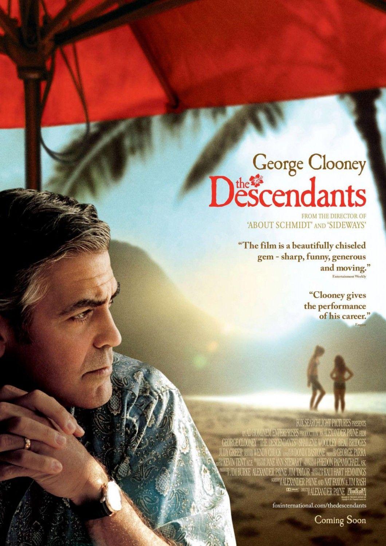 The Descendants 2011 The Descendants Movie Descendants Dvd George Clooney