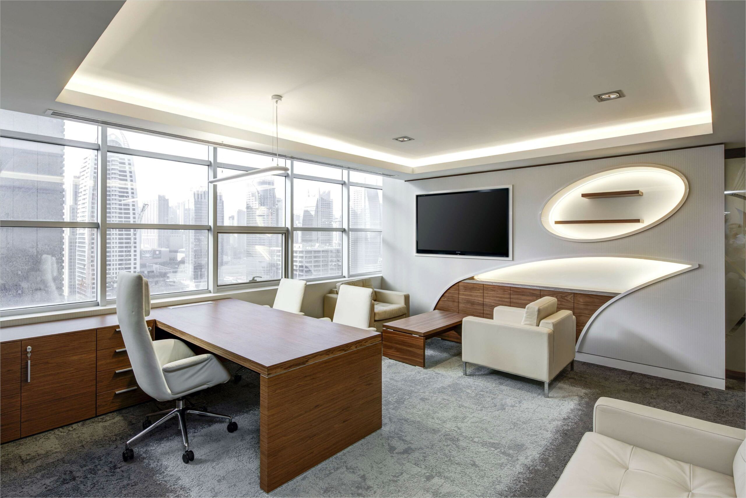 4k Interior Office Wallpaper In 2020 With Images Office