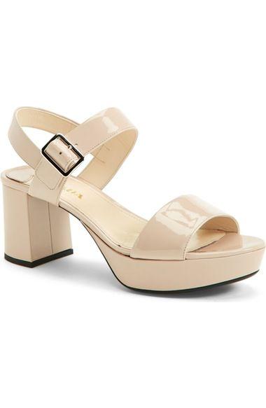 dedb425ccad PRADA Block Heel Platform Sandal (Women).  prada  shoes  sandals ...