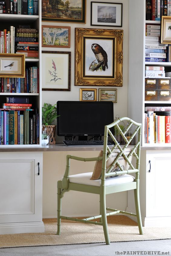 eclectic budget home office the painted hive some really good