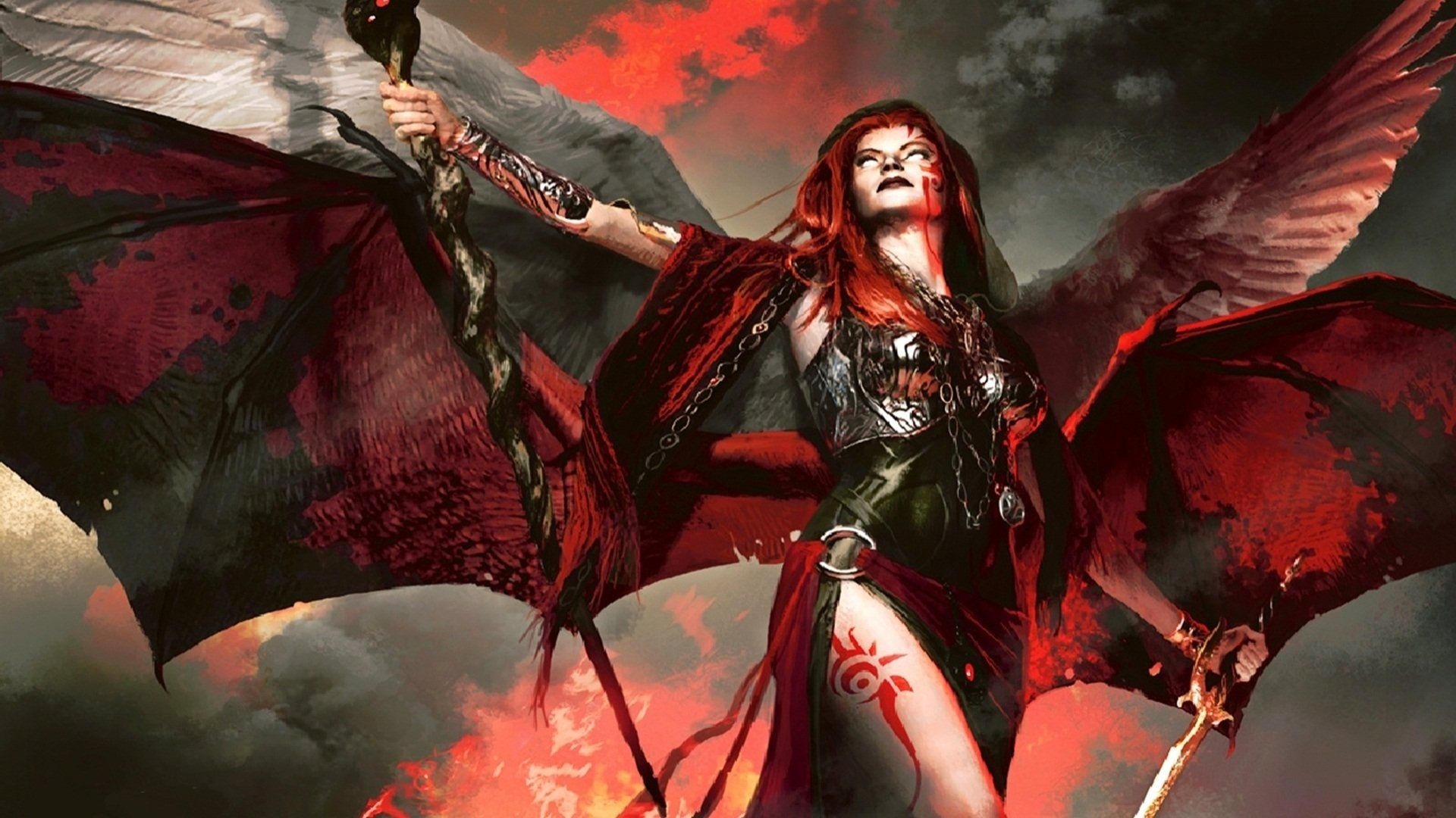 Fantasy Demon Kaalia Of The Vast Magic The Gathering Magic