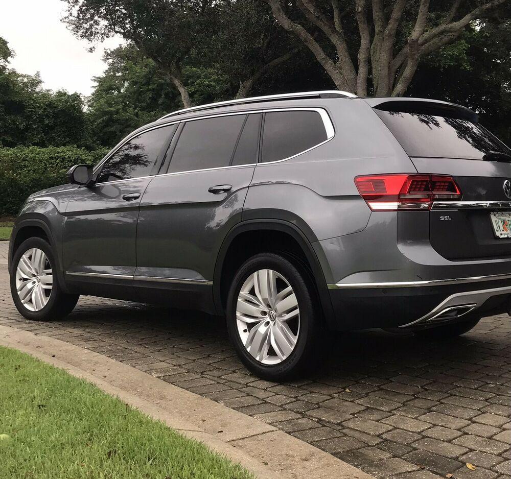 2018 Volkswagen Atlas Sel Premium 2018 Volkswagen Atlas Suv Black Awd Automatic Sel Premium Volkswagen Trucks For Sale Volkswagen Models