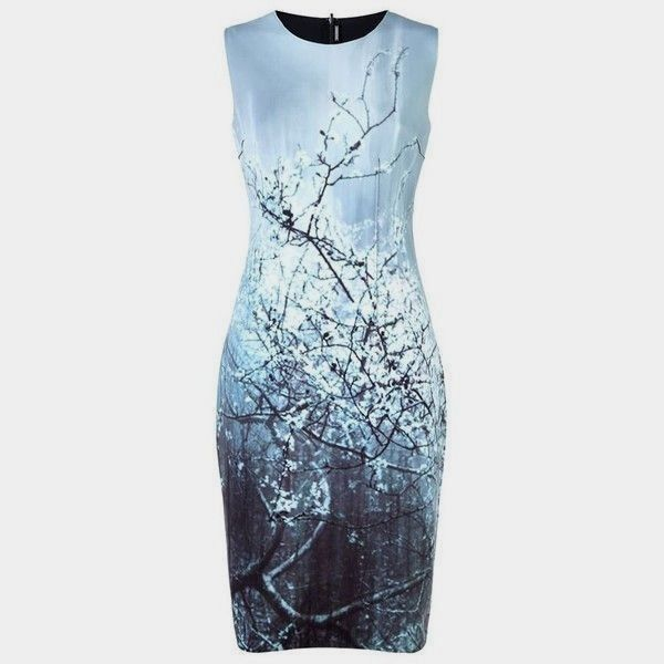 397110baf72f ELIE TAHARI Sz 6 Gwenyth Reversible Neoprene Winter Landscape Dress 398.00  #fashion #clothing #shoes #accessories #womensclothing #dresses (ebay link)