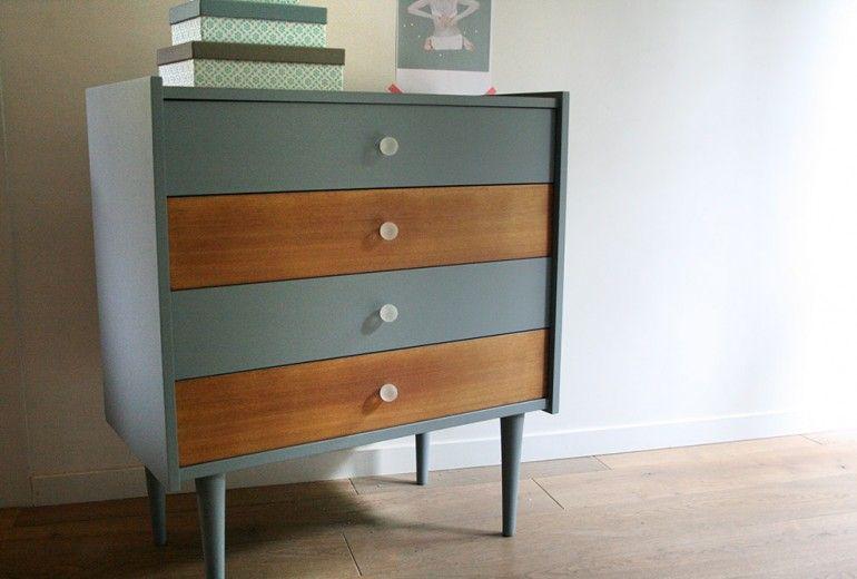 Meubles commode_louise_1 rénovés More furniture ideas Pinterest