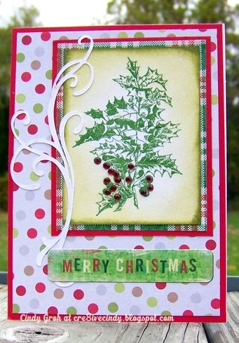 Card designed by Cindy Groh