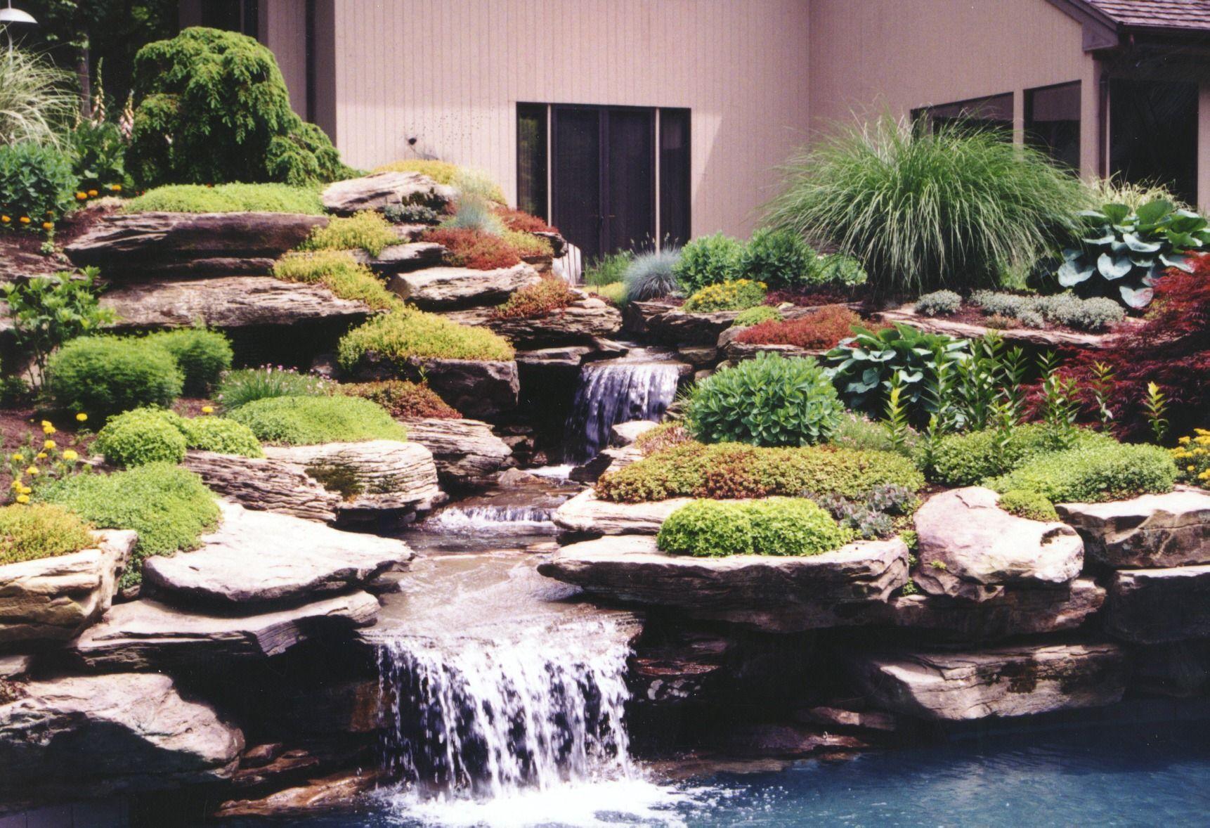 Pool Rock Garden Design on perennial wildflower garden design, chinese style interior design, informal art in design, english rock gardens design,
