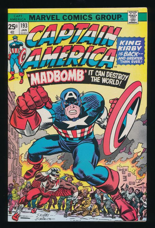 Jack Kirby: Captain America #193 (Jan. 1976)