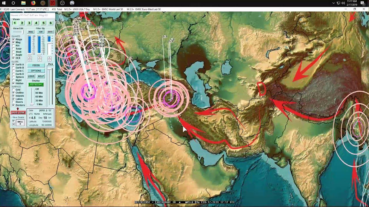 2/17/2019 Global Earthquake Update Large M6.4