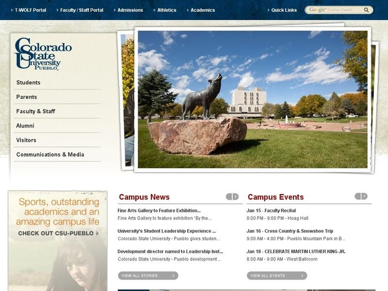 Colorado state university pueblo colorado state
