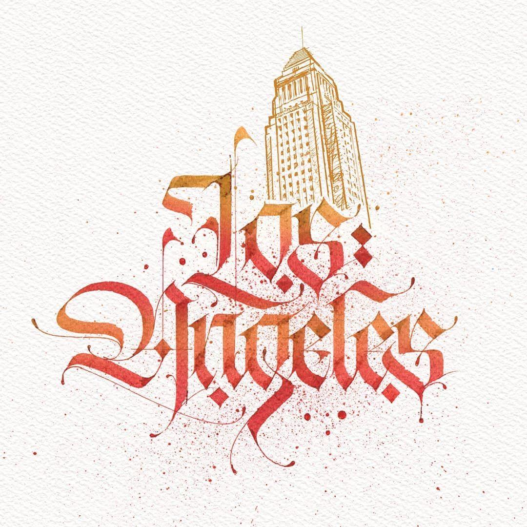 No Hay Ninguna Descripcion De La Foto Disponible Cool Lettering Los Angeles Logo Lettering Alphabet,Clash Of Clans Builder Hall 4 Base Design