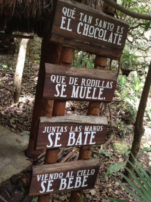 limon-14:Chocolate Xcaret Quintana Roo, México.