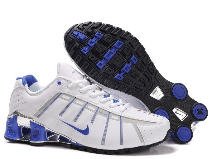 Wholesale Nike Shox NZ 3rd III Third Women White Blue Running Shoes [Nike  Shox Shoes