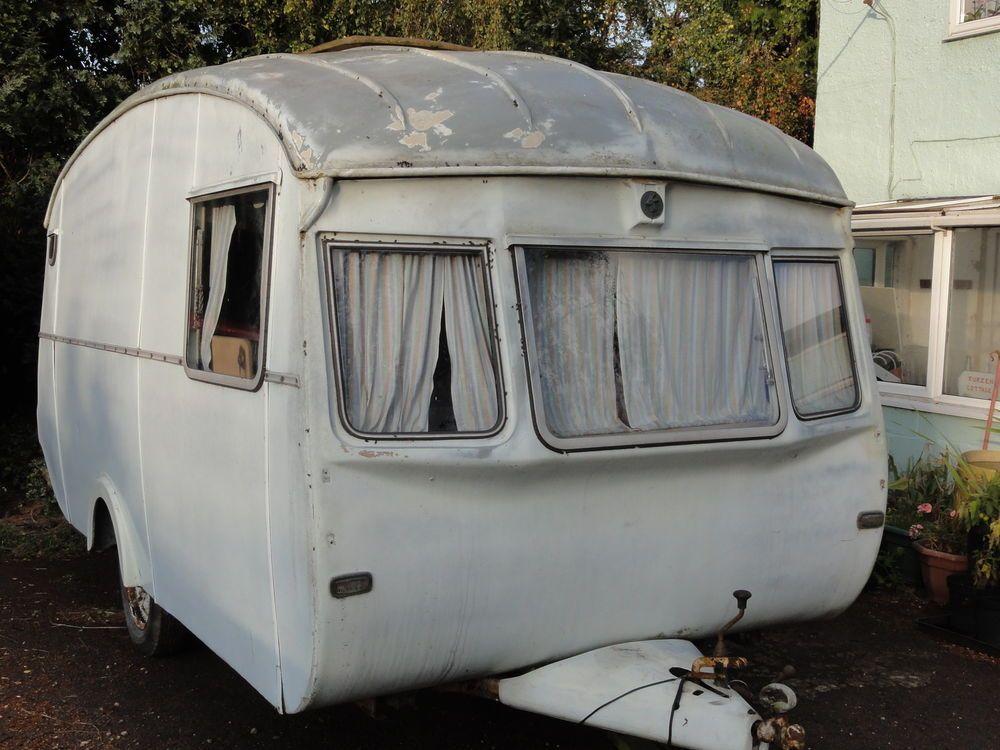 Vintage Cheltenham Caravan c 1962 Waterbuck Vintage
