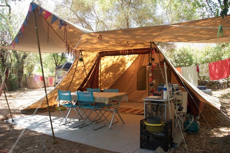 La Marque De Tente De Waard Camping Camping En Tente