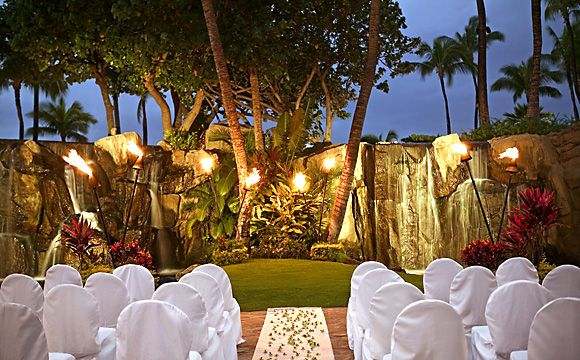 Wedding Ceremony At Aloha Pavilion In The Westin Maui Resort Spa