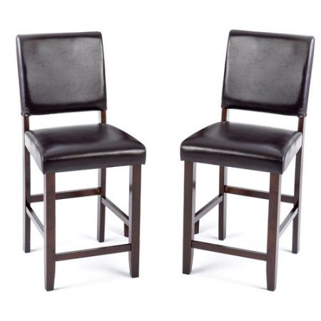 Fine Imagio Home Loft Faux Leather Counter Stools 24 Inch Set Of Andrewgaddart Wooden Chair Designs For Living Room Andrewgaddartcom