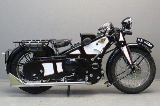Vintage Motorcycle Ascot Pullin 1929