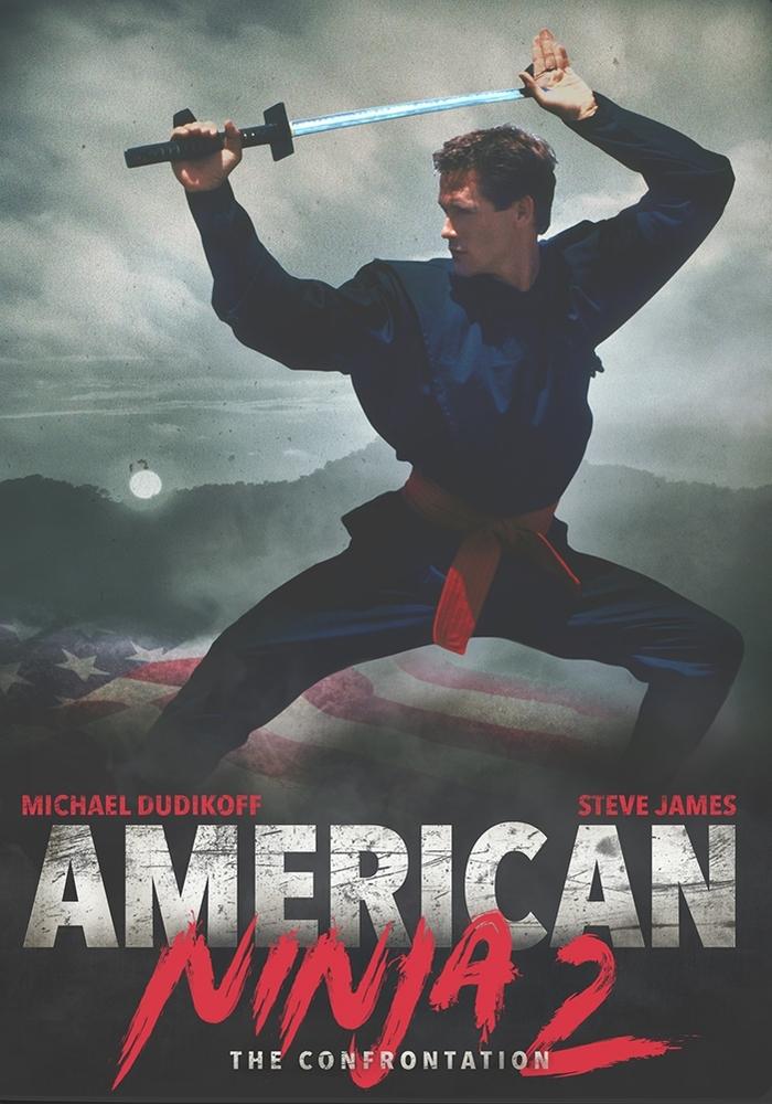 American Ninja 2 The Confrontation Dvd 1987 Ninja 2 New