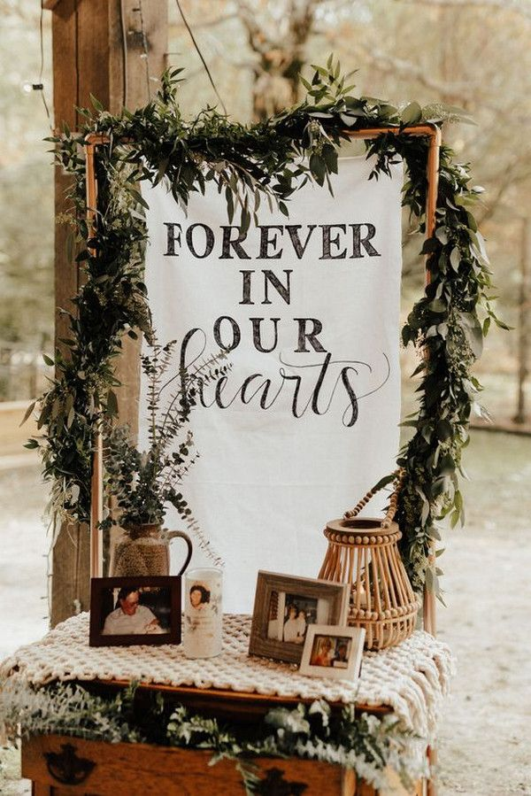15 Wedding Memorial Table Decoration Ideas for Those Who Are Forever in Our Hearts – EmmaLovesWeddings